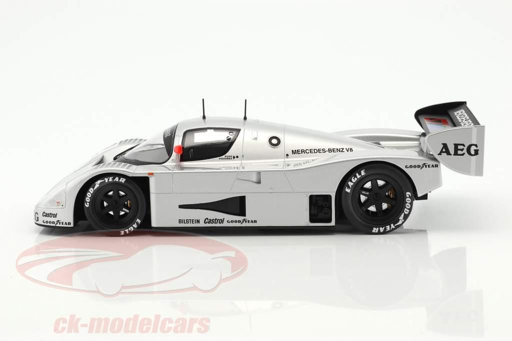 Sauber-Mercedes C9 #2 Junior prøve Schumacher, Wendlinger, Frentzen 1:18 Norev