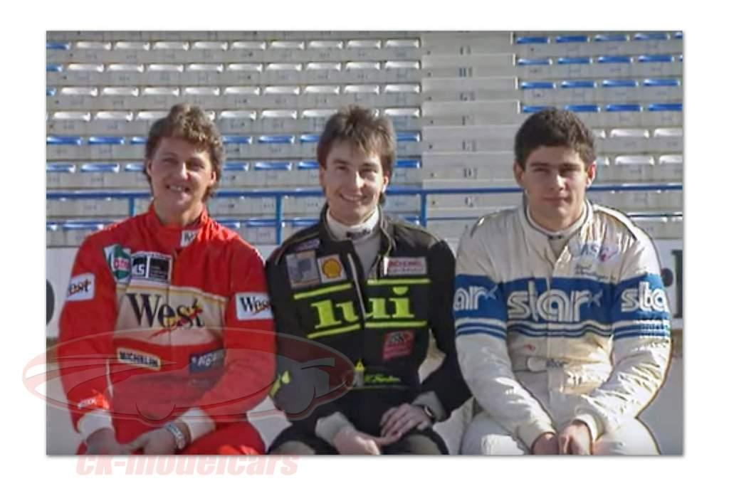 Sauber-Mercedes C9 #2 junior test Schumacher, Wendlinger, Frentzen 1:18 Norev