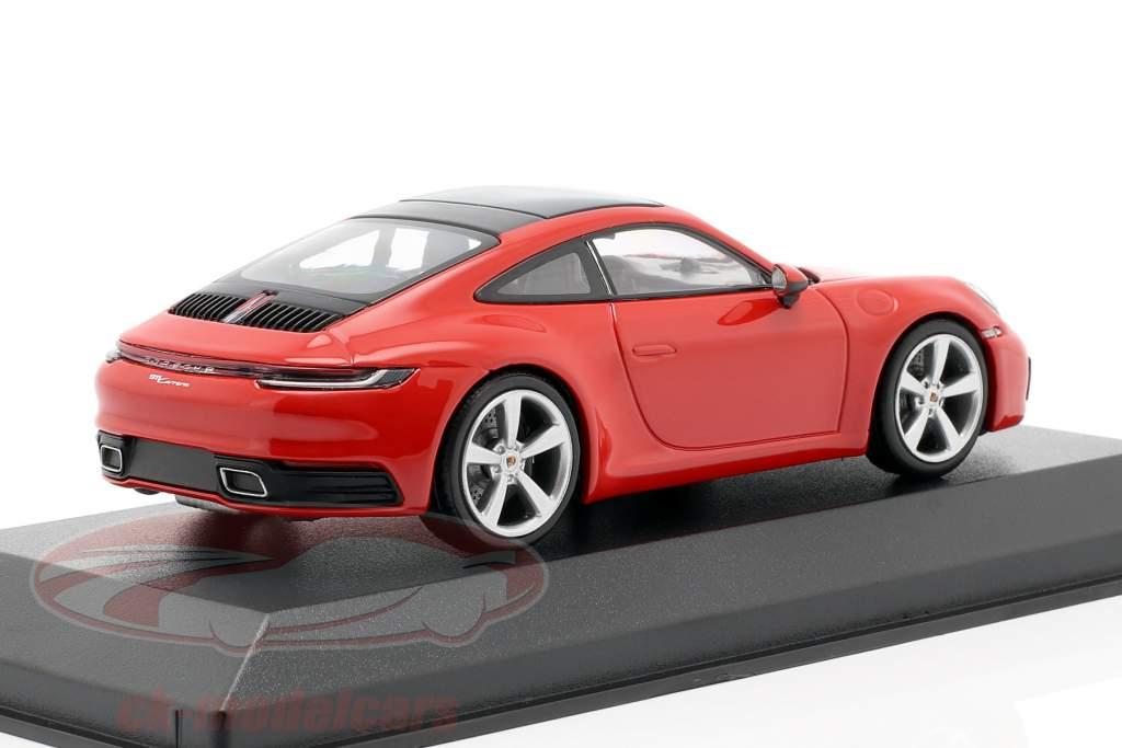 Porsche 911 (992) Carrera 2 Opførselsår 2019 Vagter 1:43 Minichamps