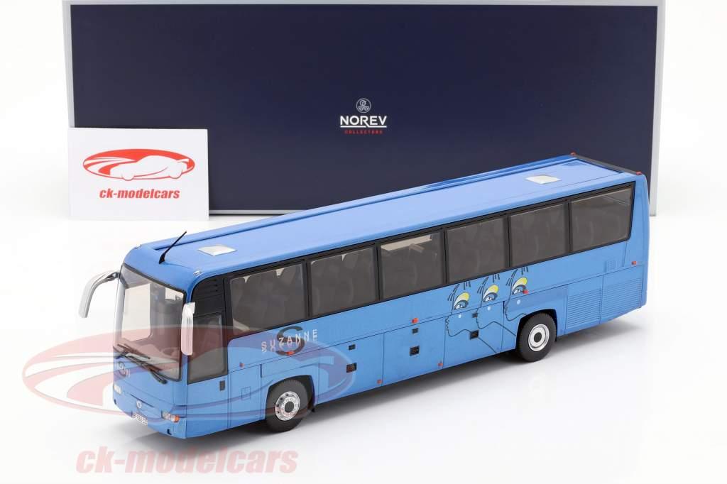 Irisbus Iliade RTX Suzanne année de construction 2006 bleu 1:43 Norev