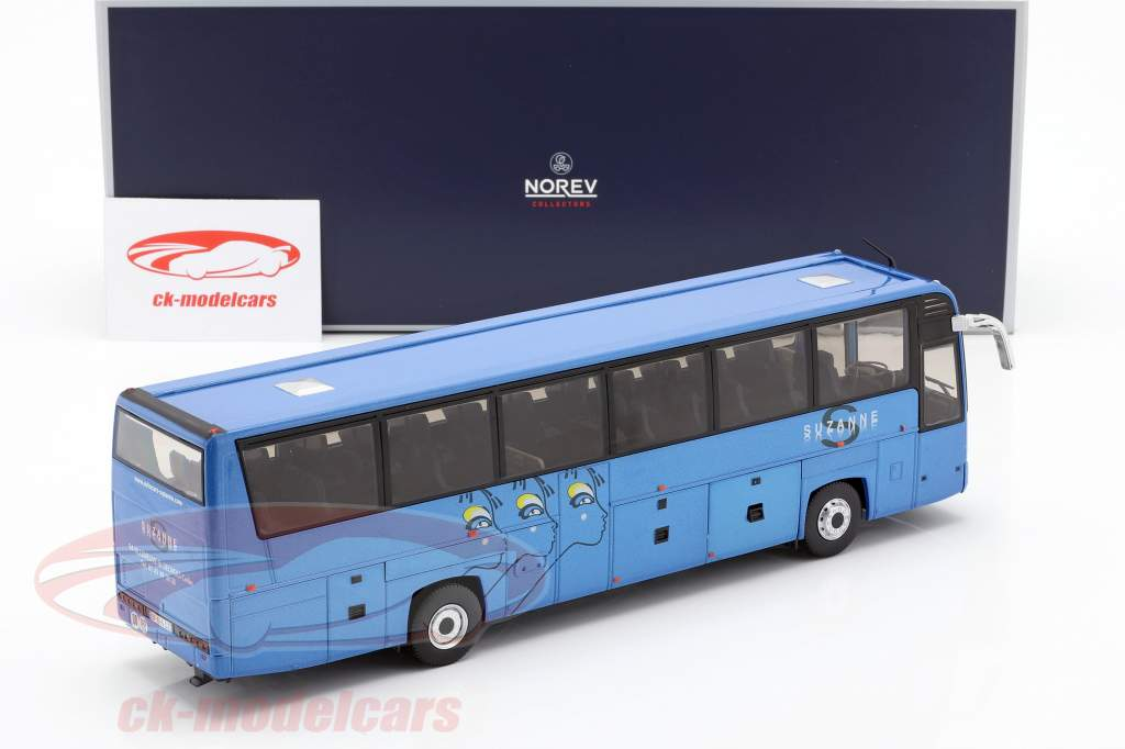 Irisbus Iliade RTX Suzanne ano de construção 2006 azul 1:43 Norev