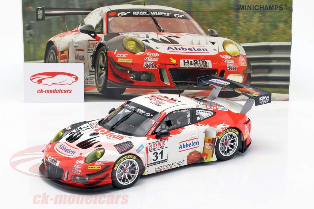 Porsche 911 GT3 R #31 Winner VLN 3 Nürburgring 2018 Frikadelli 1:18 Minichamps