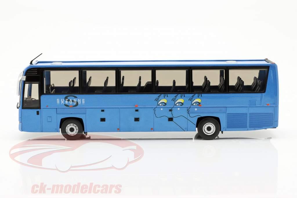 Irisbus Iliade RTX Suzanne Opførselsår 2006 blå 1:43 Norev