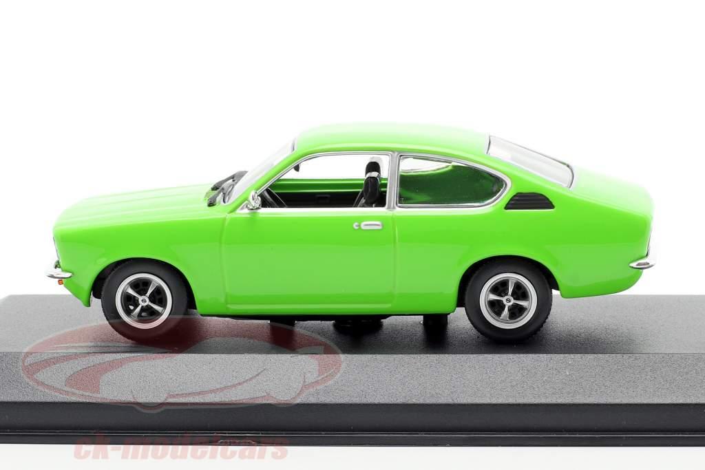 Opel Kadett C Coupe år 1974 grøn 1:43 Minichamps