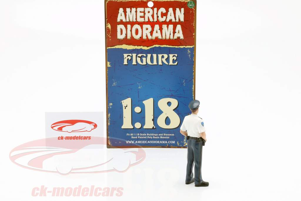 Politimand fra Holland Figur 1:18 American Diorama