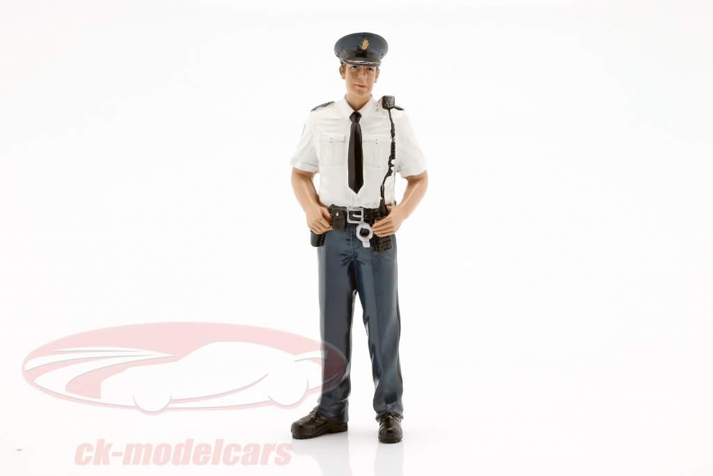 Polizist aus Holland Figur 1:18 American Diorama
