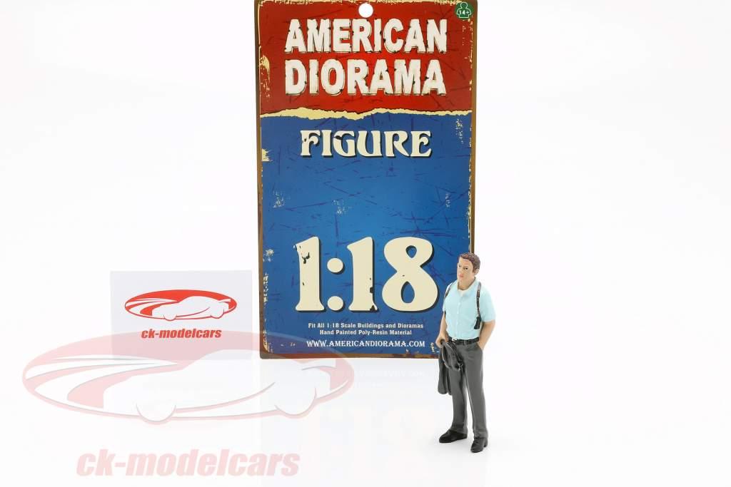 Detective versie 2 figuur 1:18 American Diorama