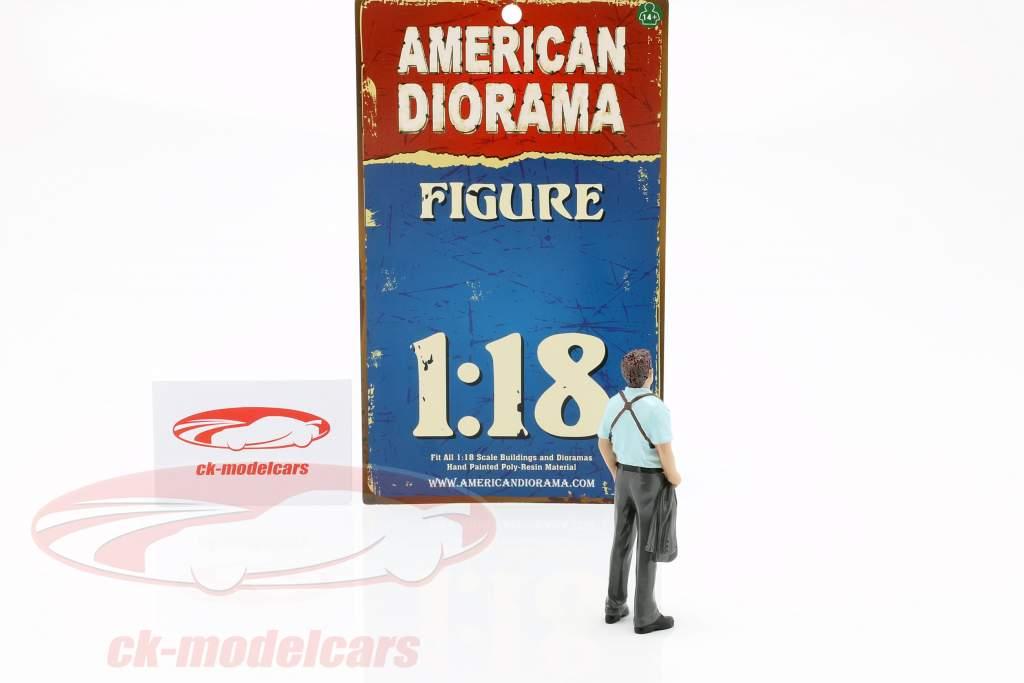 Detektiv Version 2 Figur 1:18 American Diorama