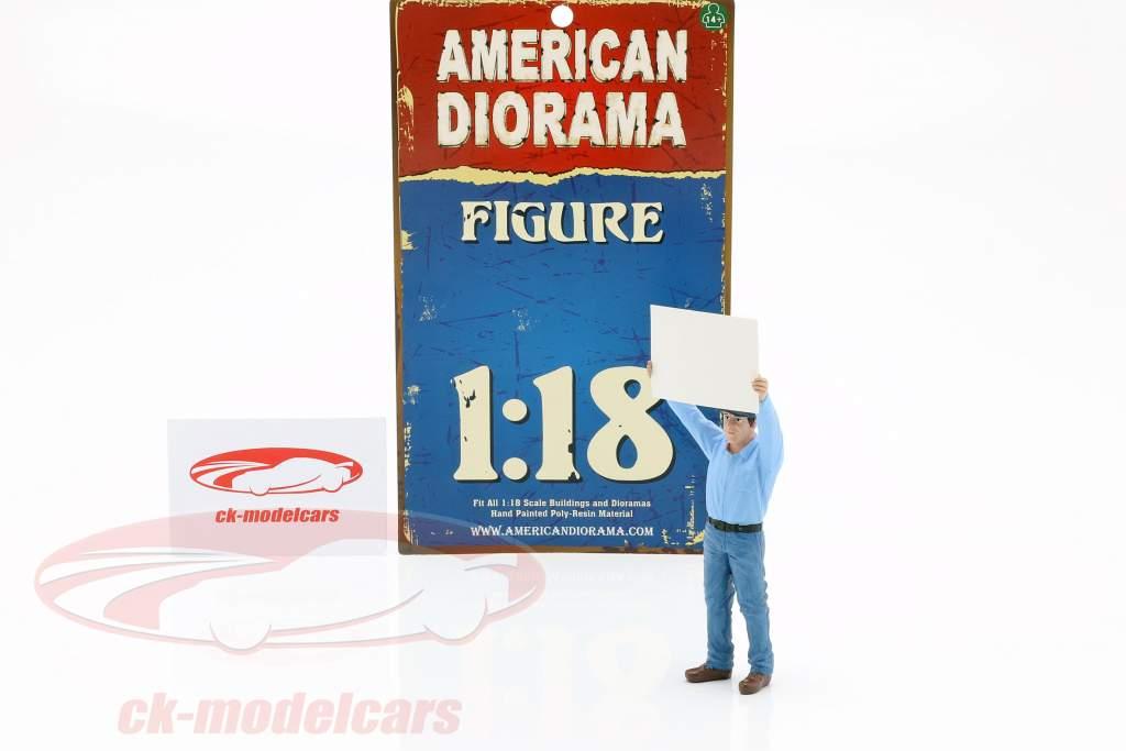 titular de reflectores figura 1:18 American Diorama