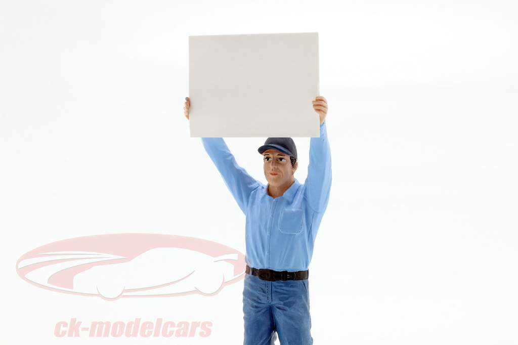 Reflektorenhalter Figur 1:18 American Diorama