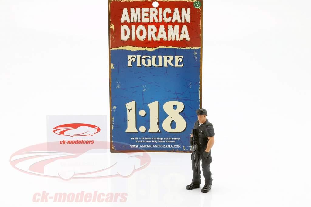 Swat Team chef figure 1:18 American Diorama