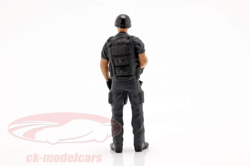 Swat Team Chief figur 1:18 American Diorama
