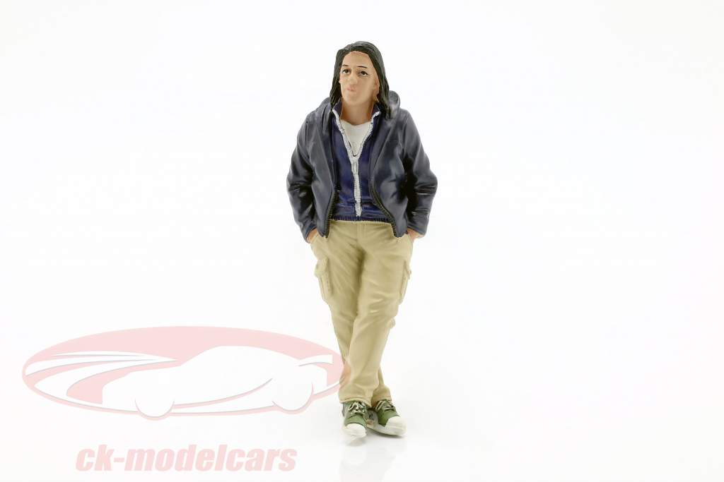 Street Racer figure III 1:18 American Diorama