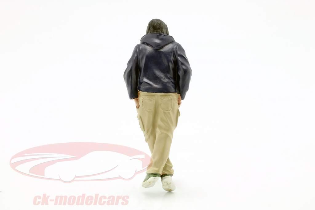 Street Racer figuur III 1:18 American Diorama