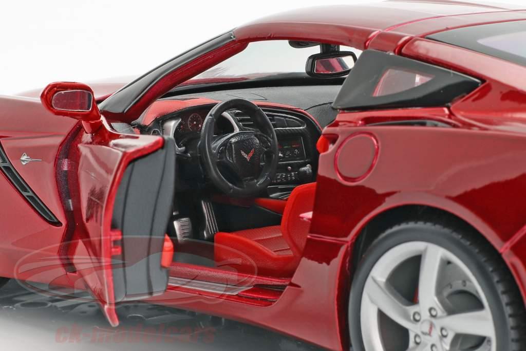 Chevrolet Corvette C7 Stingray Year 2014 red 1:18 Maisto