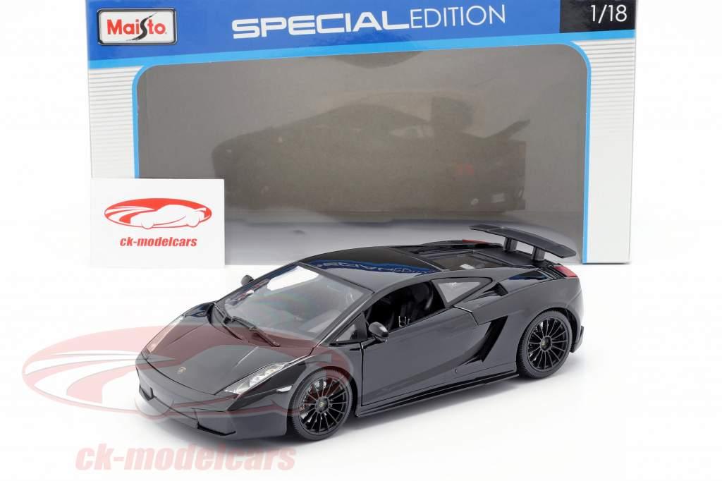 Lamborghini Gallardo Superleggera bouwjaar 2007 1:18 Maisto
