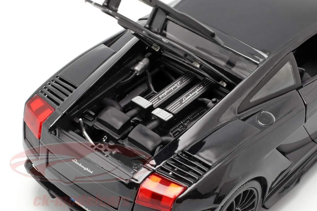 Lamborghini Gallardo Superleggera Baujahr 2007 schwarz 1:18 Maisto