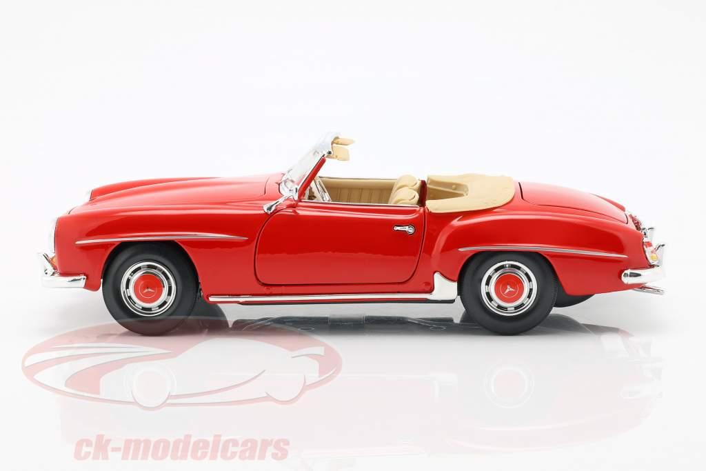 Mercedes-Benz 190 SL Baujahr 1955 rot 1:18 Maisto