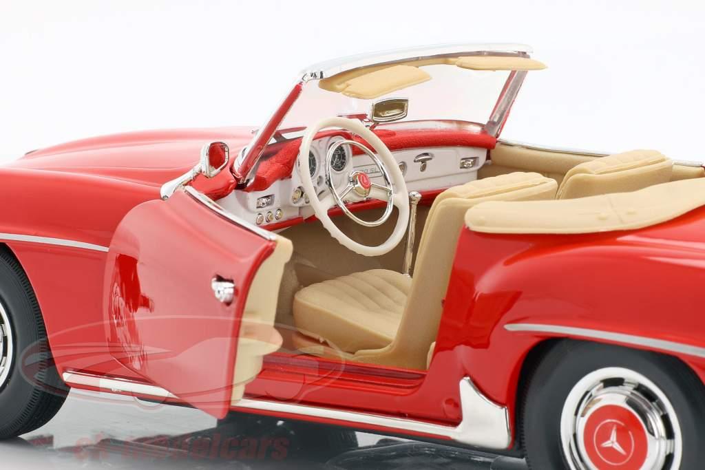 Mercedes-Benz 190 SL År 1955 rød 1:18 Maisto