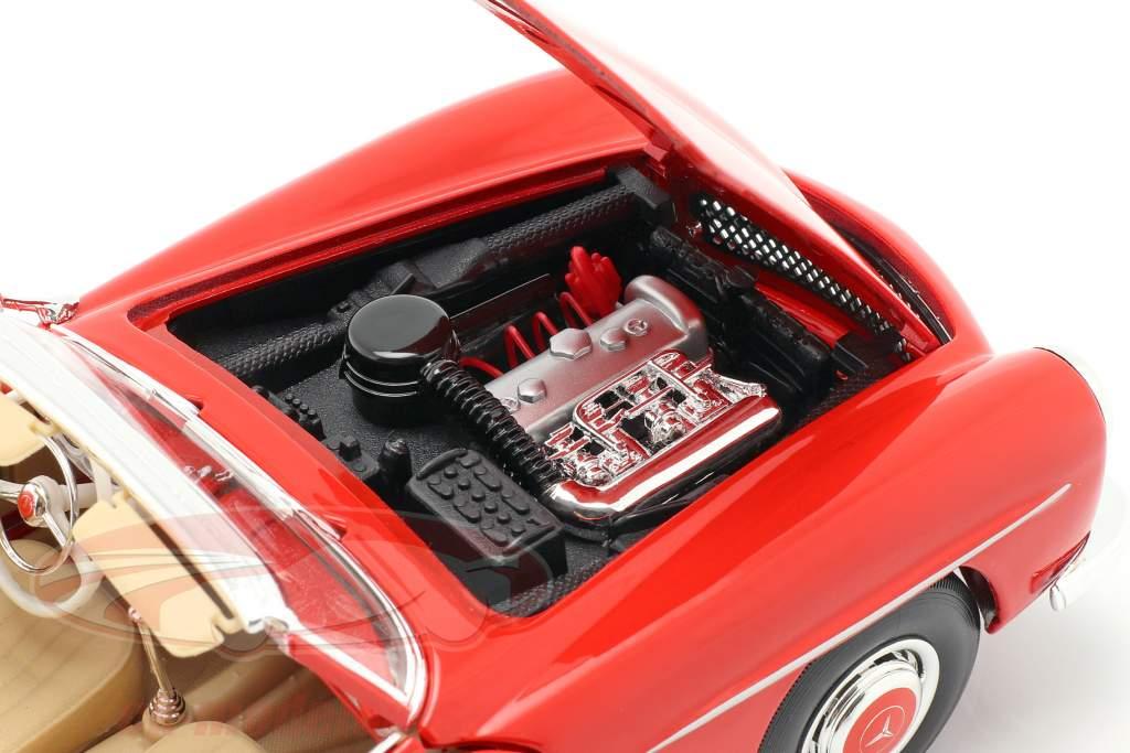 Mercedes-Benz 190 SL Anno 1955 rosso 1:18 Maisto
