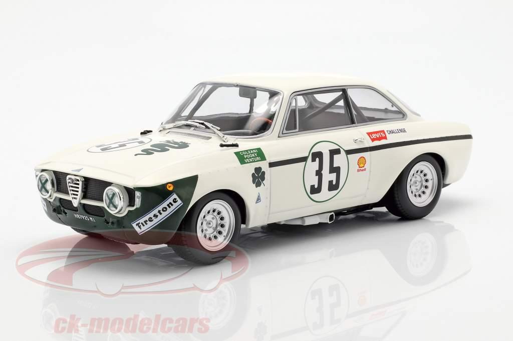Alfa Romeo GTA 1300 Junior #35 4h Jarama 1972 Autodelta 1:18 Minichamps