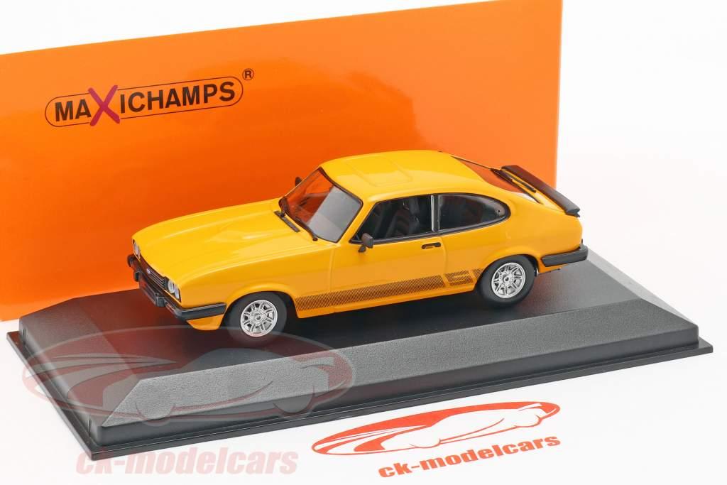 Ford Capri anno di costruzione 1982 arancione 1:43 Minichamps