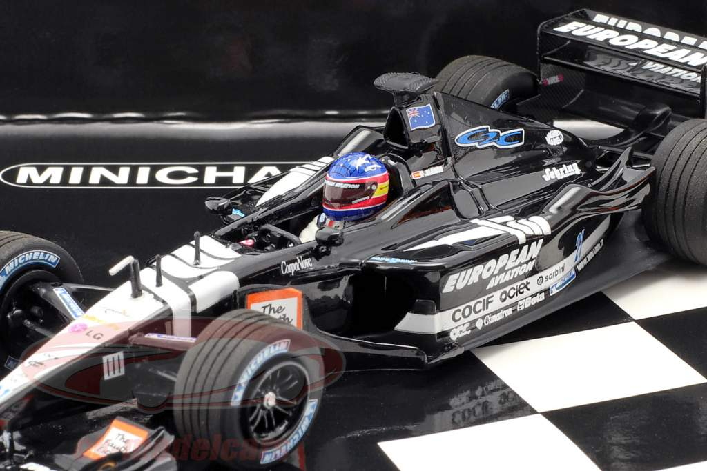 2-Car Set Fernando Alonso número 300 fórmula 1 GP Canadá 2018 1:43 Minichamps