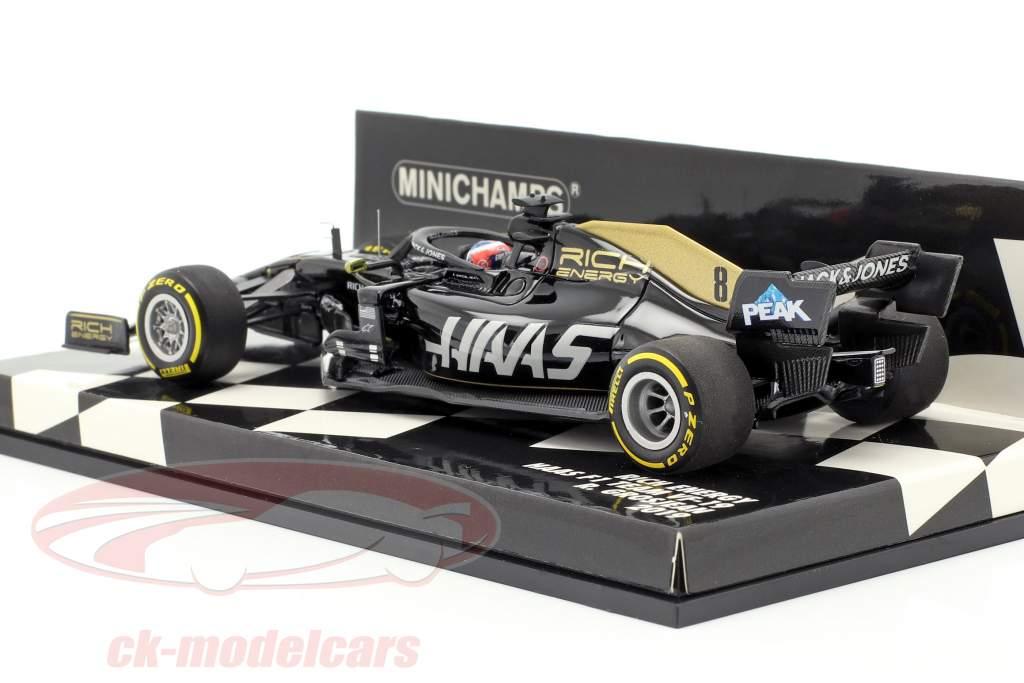 Romain Grosjean Haas VF-19 #8 fórmula 1 2019 1:43 Minichamps