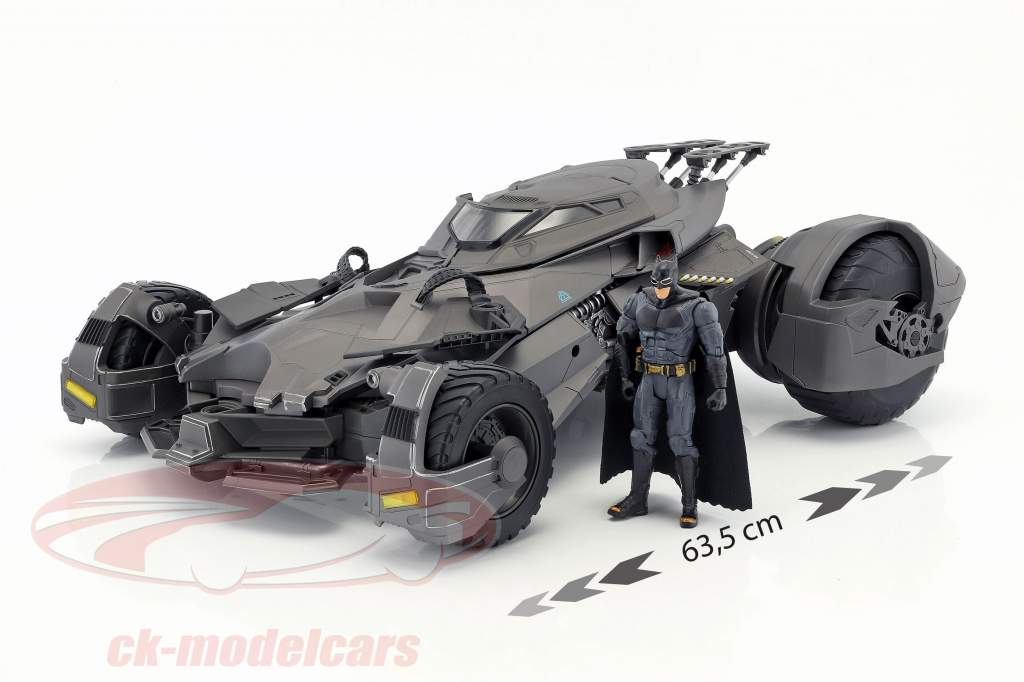 Batmobile RC-Car de la película Justice League 2017 con Batman figura 1:10 Mattel