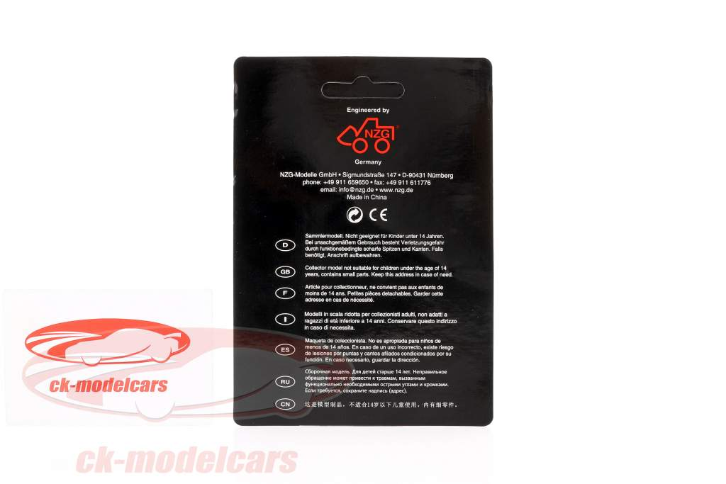 accouplement plaque Mercedes-Benz Actros Gigaspace 4x2 1:18 NZG