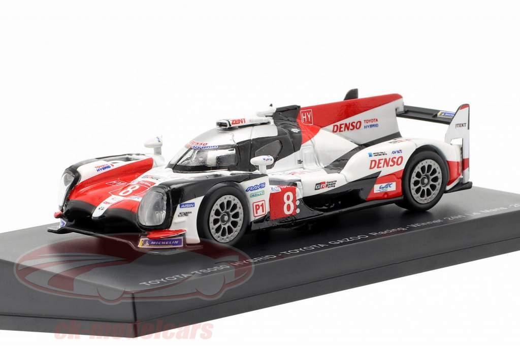 Toyota TS050 Hybrid #8 ganador 24h LeMans 2018 Buemi, Nakajima, Alonso 1:64 Spark