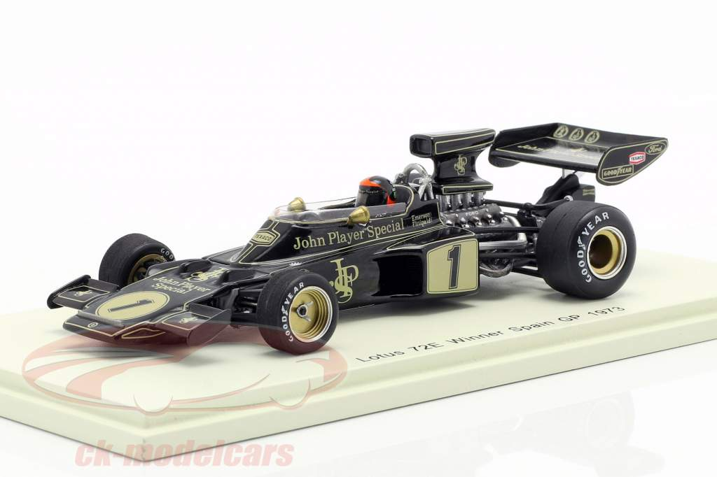 Emerson Fittipaldi Lotus 72E #1 Winner Spanien GP Formel 1 1973 1:43 Spark