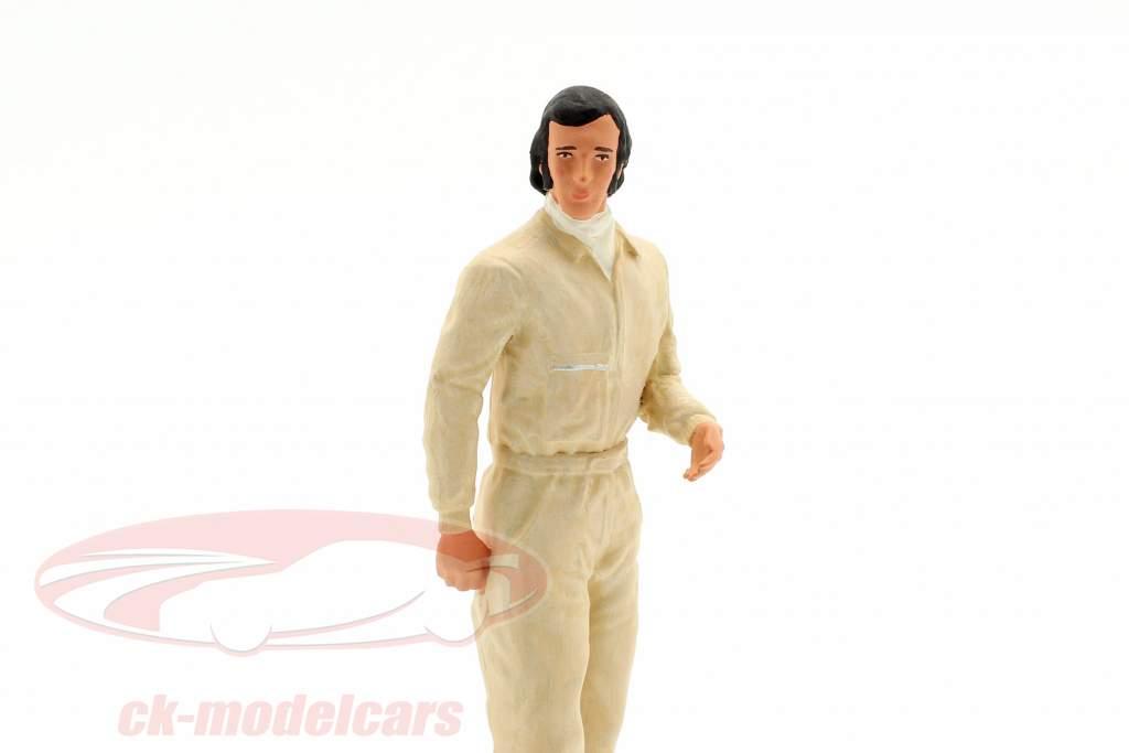 Emerson Fittipaldi Figura del conductor 1:18 FigurenManufaktur