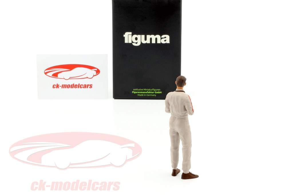 Jim C. Lotus figura del conductor 1:18 cifra manufactory