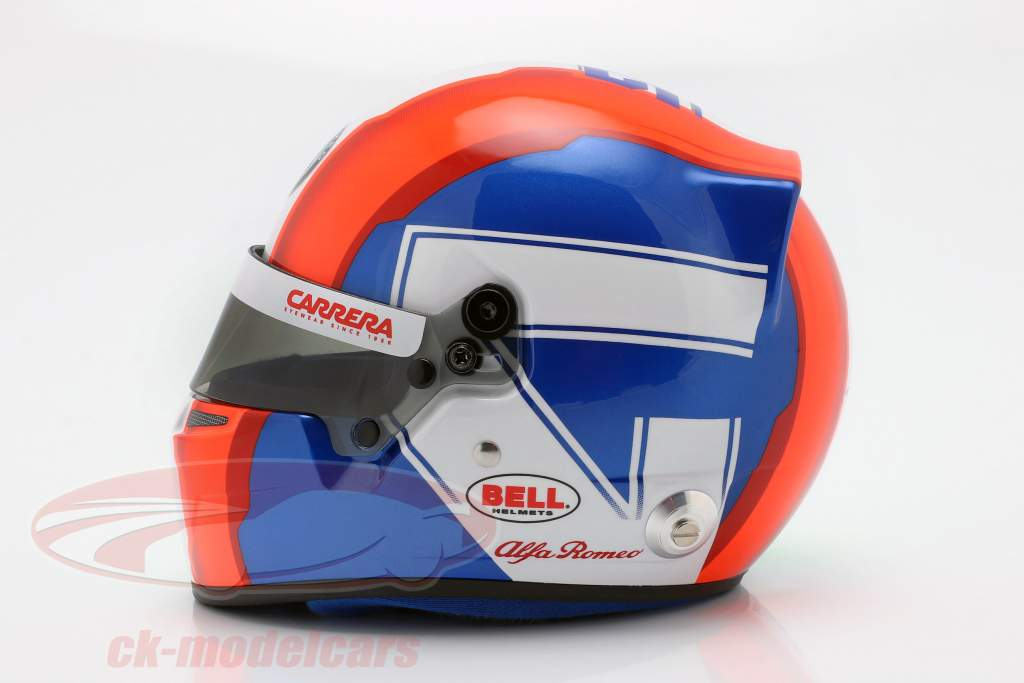 Antonio Giovinazzi Alfa Romeo Racing C38 #99 fórmula 1 2019 casco 1:2 Bell