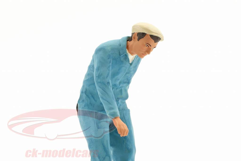 Mechaniker mit blauem Overall Figur 1:18 FigurenManufaktur