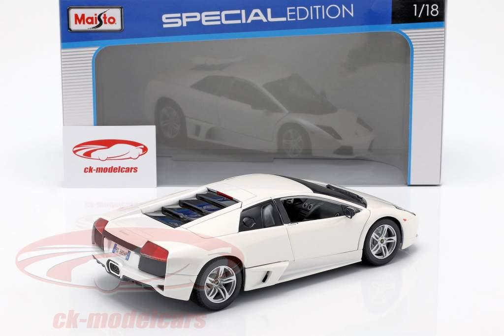 Lamborghini Murcielago LP640 Baujahr 2007 weiß 1:18 Maisto