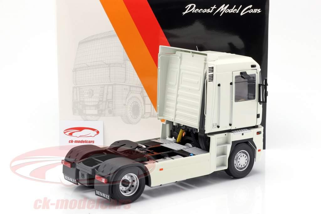 Renault Magnum Phase 2 camion anno di costruzione 2001 bianco 1:18 Z-Models