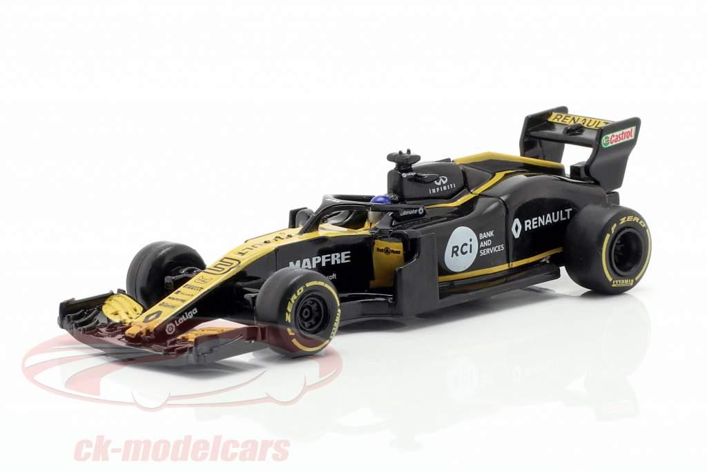 Daniel Ricciardo Renault R.S.19 #3 formel 1 2019 1:64 Pullback Z-Models