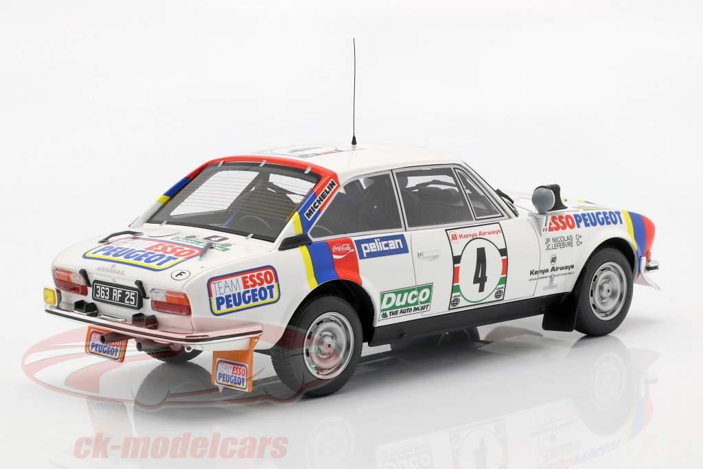 Peugeot 504 Coupe V6 #4 vincitore Safari Rallye 1978 Nicolas, Lefebvre 1:18 OttOmobile