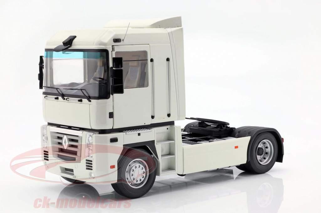 Renault Magnum Phase 2 vrachtwagen Bouwjaar 2001 wit 1:18 Z-Models