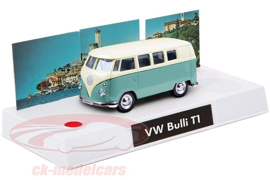 VW Bulli T1 Advent kalender 2019: Volkswagen VW Bulli T1 turkoois 1:43 Franzis