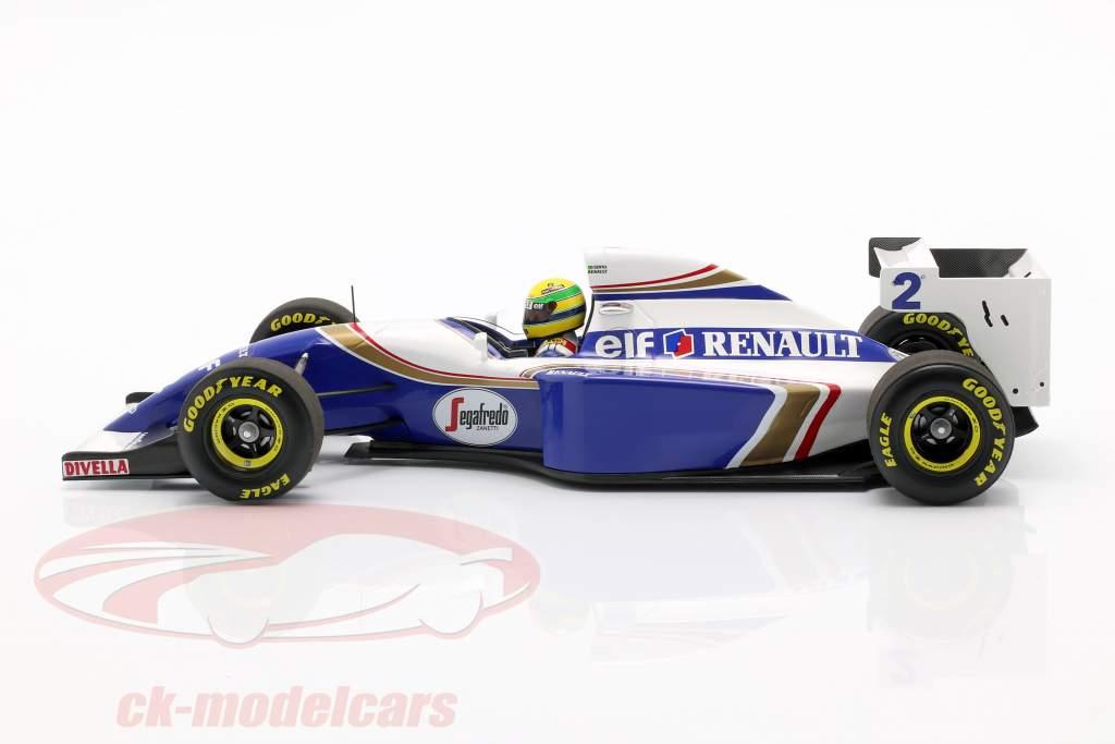 Ayrton Senna Williams FW 16 #2 Pacific GP formel 1 1994 1:18 Minichamps