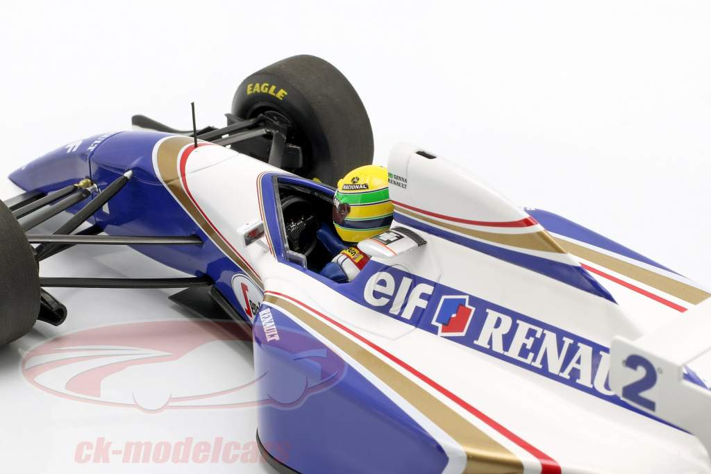 Ayrton Senna Williams FW 16 #2 Pacífico GP fórmula 1 1994 1:18 Minichamps