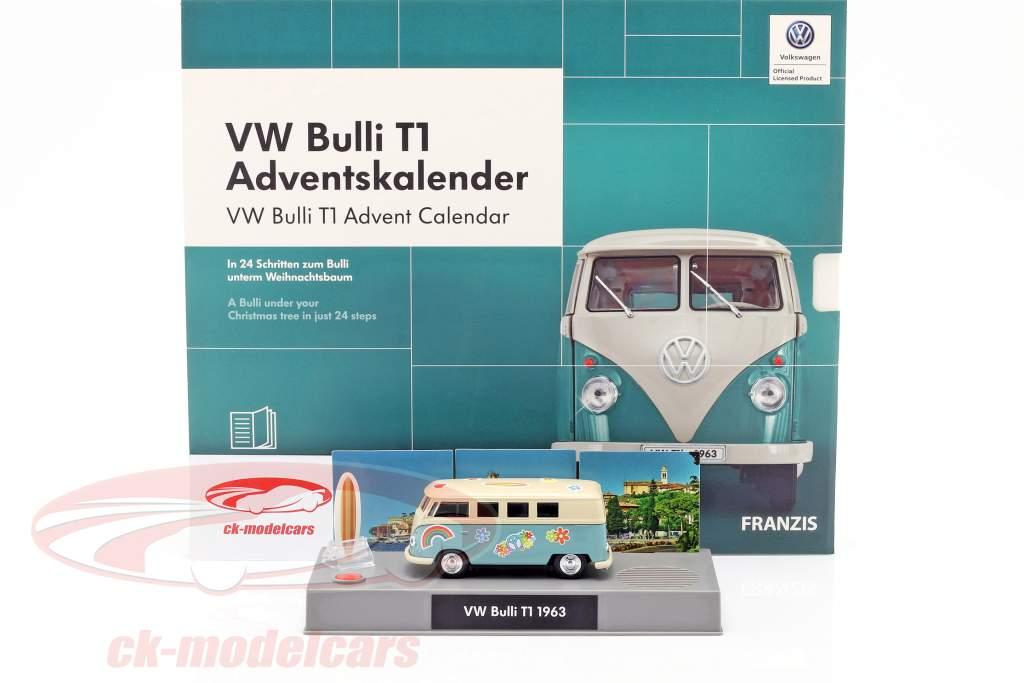 VW Bulli T1 advent Calendar 2019 A Bulli under your christmas tree in 24 days