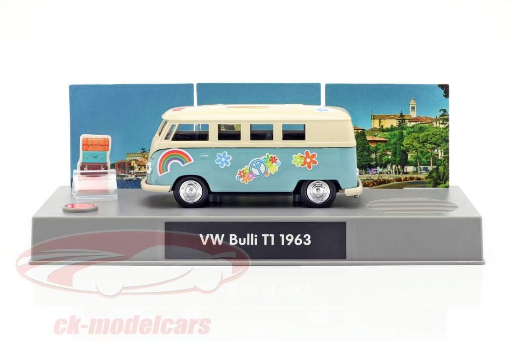 VW Bulli T1 advent Calendar 2019: Volkswagen VW Bulli T1 turquoise 1:43 Franzis