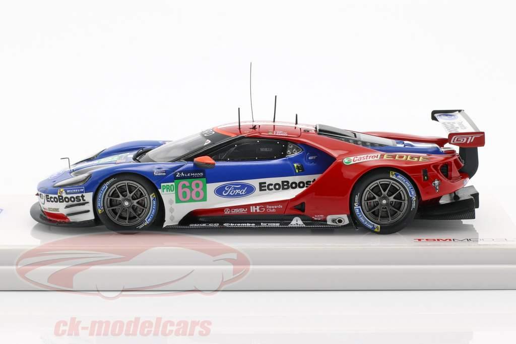 Ford GT #68 24h LeMans 2017 Hand, Kanaan, Müller 1:43 TrueScale
