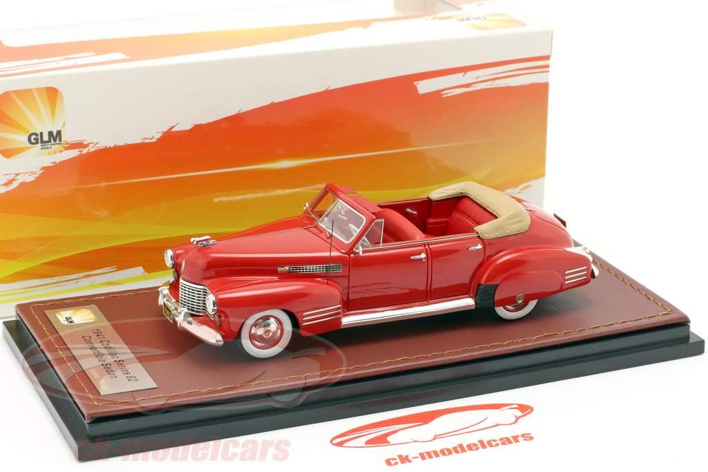 Cadillac Series 62 Convertible Sedan aberto ano de construção 1941 vermelho 1:43 GLM
