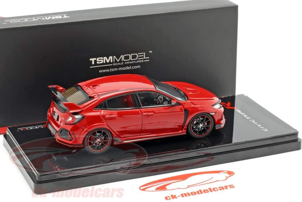 Honda Civic Type R RHD anno di costruzione 2017 Rallye rosso 1:43 TrueScale