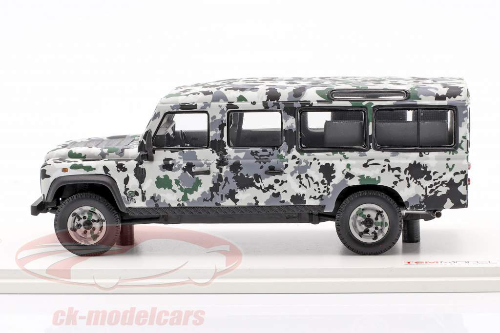 Land Rover Defender CNN Armoured Vehicle Pizza Truck 1995 camouflage 1:43 TrueScale
